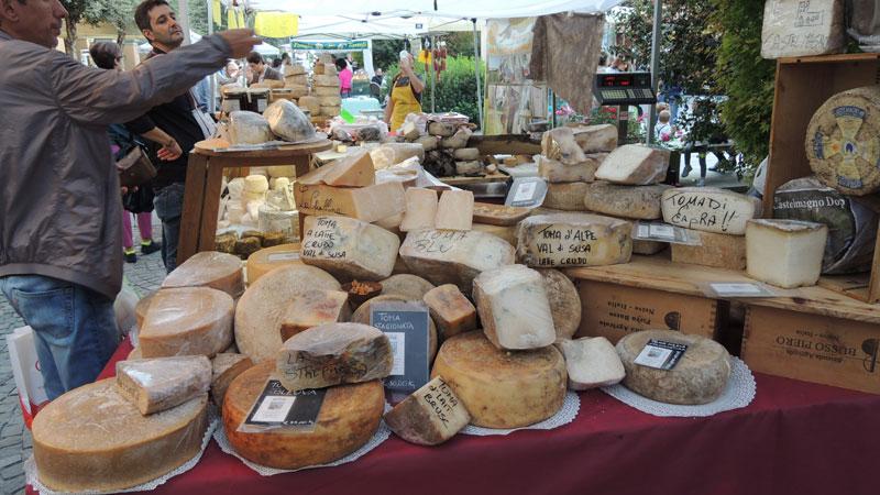 Kaasmarkt in Piemonte
