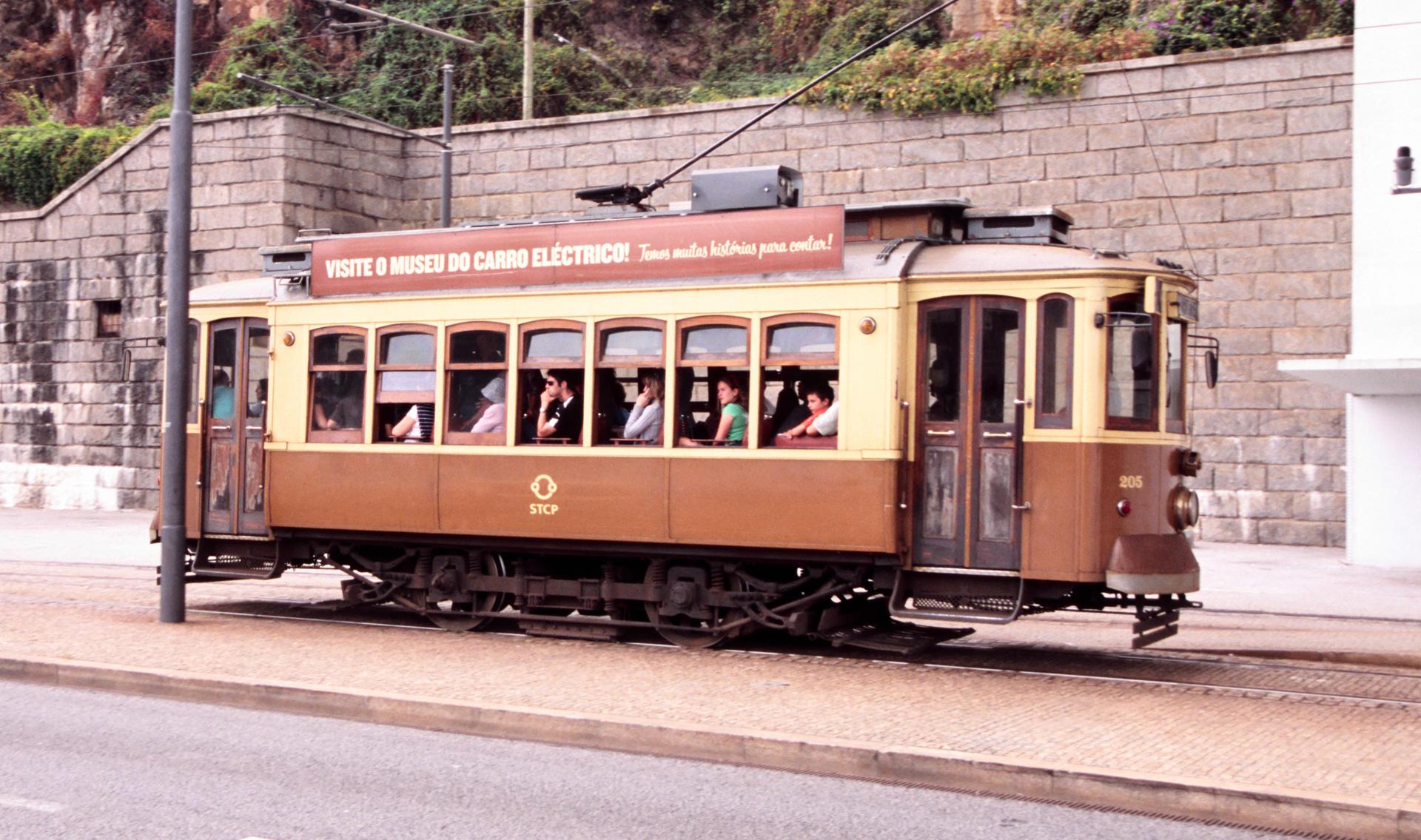 De historische tramlijn 1, de rivierlijn