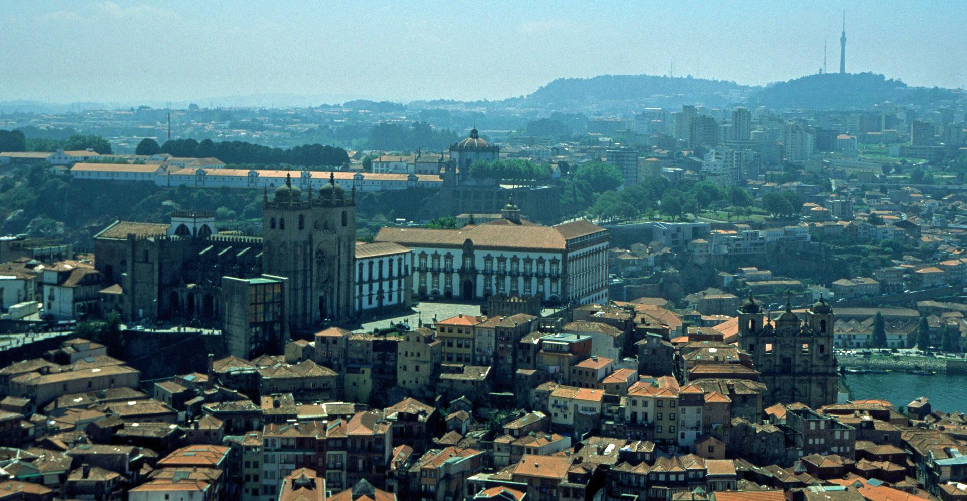 Uitzicht op Sé do Porto